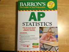 Barron's AP Statistics, 7th Edition by Marty Sternstein (2013, Paperback,...