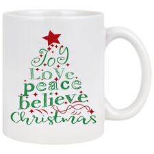 Christmas Cup Mug Ceramic Mug Tea Cup Coffee Mugs Cute Gift Birthday Christmas