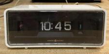 New ListingGeneral Electric Flip Number Alarm Clock Model 492E