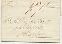 """2442 1831 superb entire """"BRECHIN"""" (straight line, CBP Type 4/46) to """"ABERDEEN"""""""