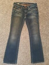 BIG STAR Buckle Sweet Low Rise Bootcut womens jeans - size 25R - 27 x 29 - Boot