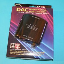 DAC Digital to Analog Audio Converter Optical /Coaxial /USB /Headphone Amplifier
