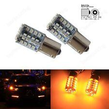 2x 12V 581 Lampen 40 SMD LED Tagfahrlich Rücklicht Blinker Gelb Amber Birne
