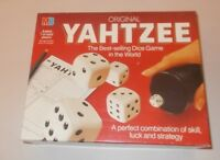 ORIGINAL YAHTZEE. VINTAGE 1982 DICE GAME BY MB GAMES