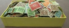GERMANY - SUBSTANTIAL VINTAGE COLLECTION IN OLD BOX - SEVERAL 1000s MINT & USED