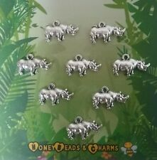 ❤ Brachiosaurus Dinosaur Charms ❤ Pack of 8 ❤ CRAFTING//JEWELLERY ❤