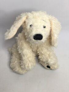 "GANZ HERITAGE COLLECTION 15"" CREAM/WHITE DOG Plush"