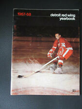 1967-68 DETROIT RED WINGS ANNUAL YEARBOOK - BRUCE MACGREGOR