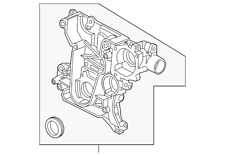 Genuine GM Front Cover 55559302