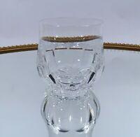 Peill Glas Diana Whisky Becher H 9 cm Bleikristall mundgeblasen handgeschliffen