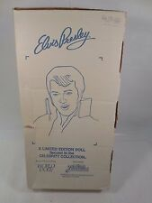 "LIMITED EDITION WORLD DOLL SUPERGOLD ELVIS PRESLEY 21"" FIGURE W/BOX & COA 1984"