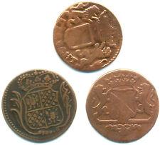 Niederlande, Lot v. 3 Münzen u. a. Utrecht 1 Duit 1681