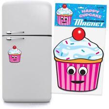 Jumbo Cute Cupcake Refrigerator Magnet!