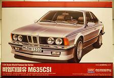 1976 BMW 635 CSI  E 24,1:24, Academy 15102