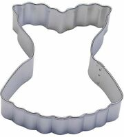 Fluted Corset Cookie Cutter 3.75'' NEW! Bake Bridal Shower Cookies
