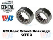 Rear Wheel Bearings QTY 2   WJB WB513067
