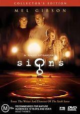 Signs (DVD, 2003) COLLECTORS EDITION / Mel Gibson / M. Night Shyamalan