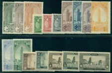 FRENCH MOROCCO 1917 Definitive compete set Scott 55-71 MM/MH $331.30