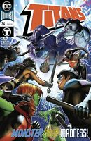 Titans #24 Monster Mind Madness DC Universe Comics 1st Print 2018 unread NM