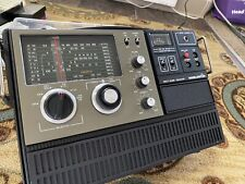 New listing Vintage Worldstar Multiband Receiver Radio Weather Mg-600 Works with Microphone