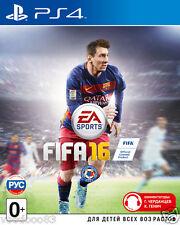 FIFA 16 (PS4) Eng,Russian,German,italian,Polish,French,Arabic,Dutch,Spanish