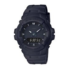 Casio G-SHOCK G100BB-1A Black Out Series Matte Resin Analog 200m Men's Watch