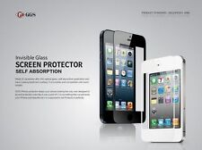 GGS Self-Adhesive Glass LCD Screen Protector For Apple iPhone 4/4s White UK