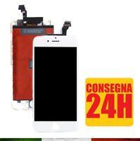 DISPLAY SCHERMO IPHONE 6 BIANCO PER APPLE TOUCH SCREEN LCD RETINA FRAME VETRO 6