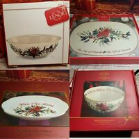 Lenox Winter Greetings Holiday Collection - choice of 4 pieces!
