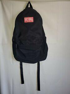 Victoria's Secret Victoria Sport Campus Backpack Lightweight Black w/ Red Inside