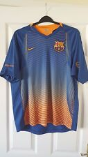 Mens Football Shirt - FC Barcelona - Training 2005-06 - Nike - Blue Orange - M