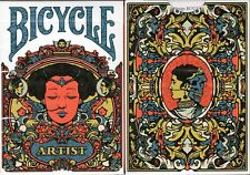 Artist II Bicycle Playing Cards Poker Size Deck USPCC Custom Limited Edition New