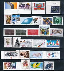 GERMANY WEST collection x28 MNH postfriesch STAMPS