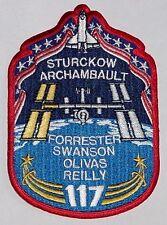 Aufnäher Patch Raumfahrt NASA STS-117 Space Shuttle Atlantis...........A3124