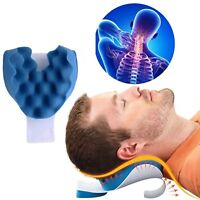 Neck And Shoulder Relaxer Pain Relief Support Cervical Spine Traction Pillow