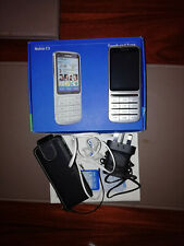 NOKIA C3-01.5 - Silver  Mobile Phone. ON EE PAY AS YOU GO.