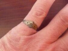 Finger Ring-Metal Detecting Find Post Medieval Tudor Style Deocrated