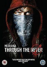 Metallica - Through The Never - 2 DISC REGION 2 DVD SET
