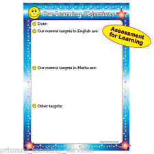 DP20 - Learning Objectives A1 Reusable Poster Schools Teachers Classroom