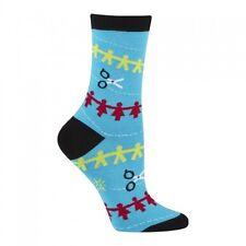 Sock It To Me para mujer Crew calcetines-Muñeca De Papel
