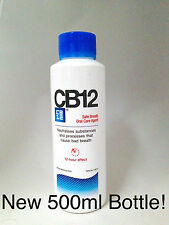 Cb12 enjuagues bucales / Enjuague Original Mentol-Nueva 500ml botella!!!
