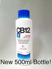 2 X cb12 enjuagues bucales / Original Mentol-Nueva 500ml botella!!!