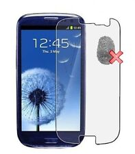 3x Screen Protector Anti Finger Print for Samsung Galaxy S3 Min i8190 NEW