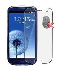 3x screen protector ANTI FINGER PRINT FOR SAMSUNG GALAXY S4 min i9190 NEW