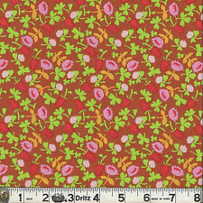 Windham BRIAR ROSE Calico Brown Fabric 1/2 yard by Heather Ross