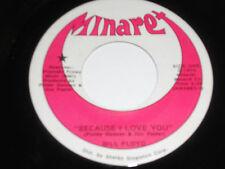 "BILL FLOYD NM Because I Love You 45 Living A Re-Run 7"" Vinyl Minaret"