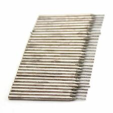 30Pcs 0.7 mm Diamond Core Drill Saw Hole Cutter Solid Bits Coated Lapidary Tools