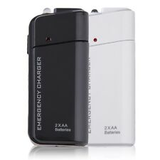 Universal USB Emergency Portable 2 AA Battery Power Charger for Mobile Phones MG