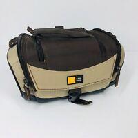 Case Logic Brown & Tan Classic Look Miniature Compact Camera Travel Case Bag (U)