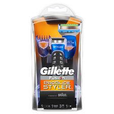 Gillette Fusion ProGlide Styler Barba trimme 3 en 1 Hoja De Afeitar afeitado Ribete
